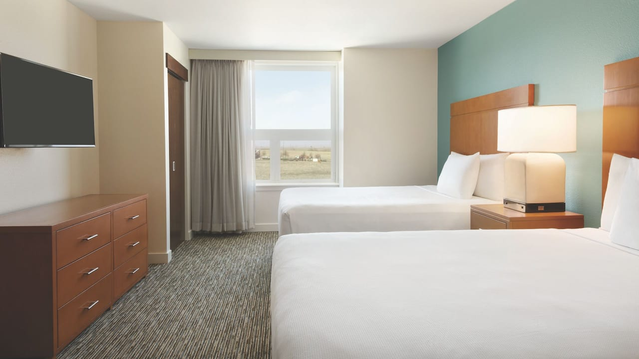 Hyatt House Denver Airport, two bedroom suite