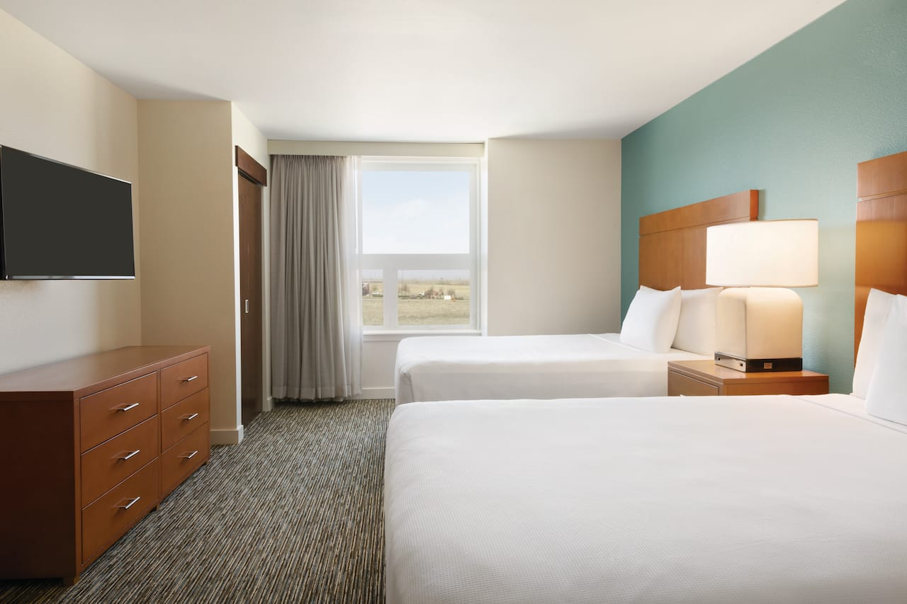 Hyatt House Denver Airport Two Bedroom Trio Suite