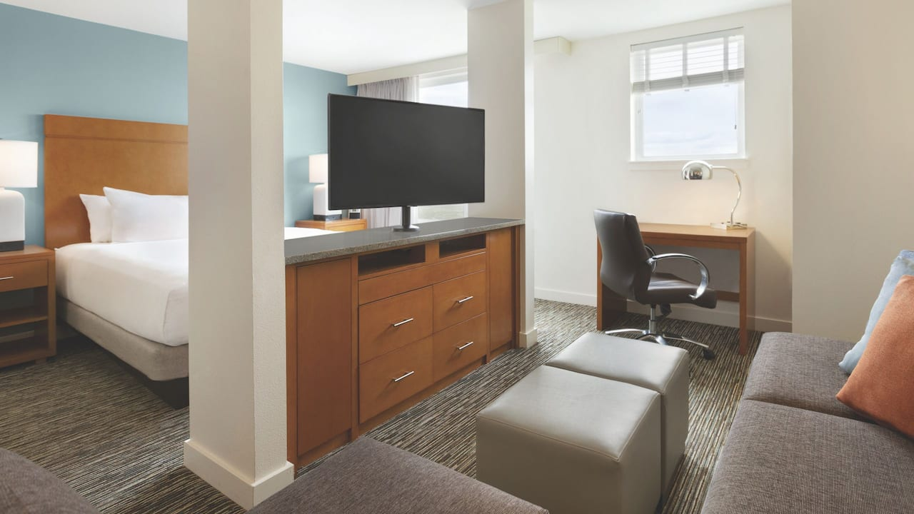 Hyatt House Denver Airport, deluxe studio