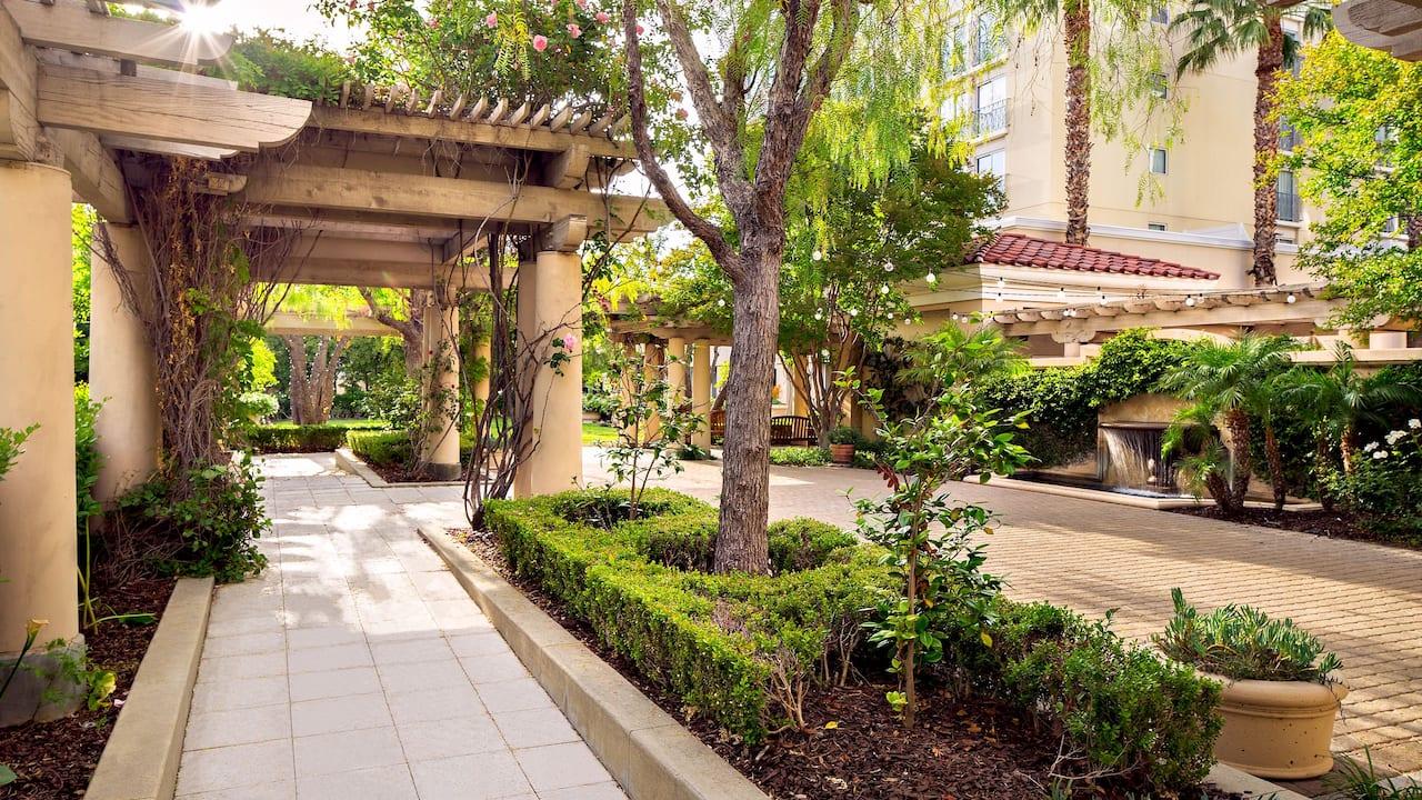 Hyatt Regency Valencia Secret Garden Terrace Wedding Venue Image