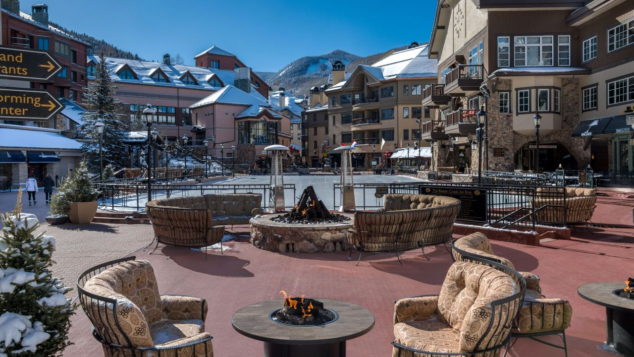 Beaver Creek outdoor patio