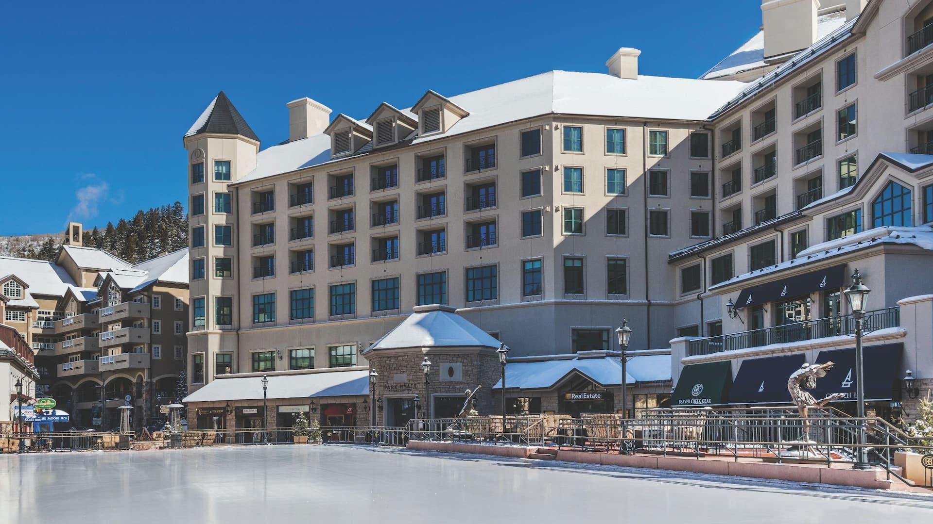Beaver creek hotel exterior