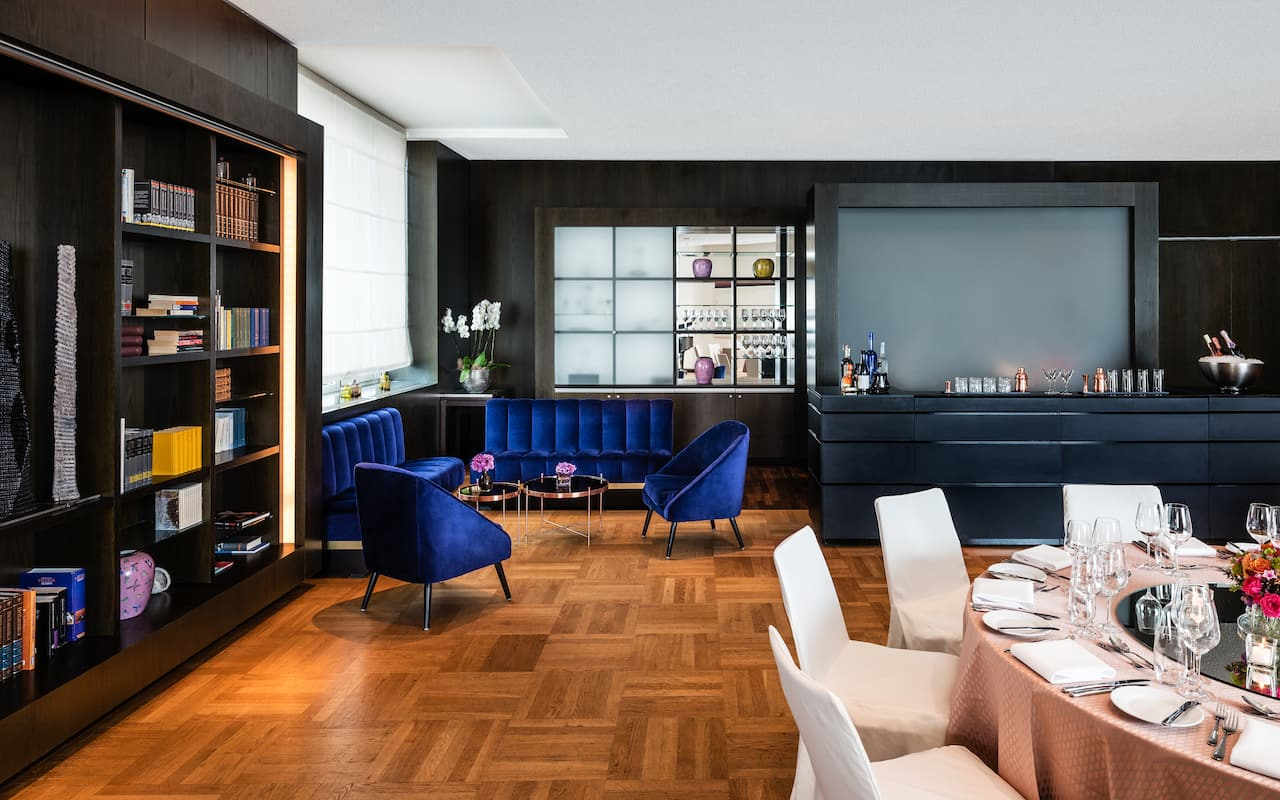 Bibliothek im Grand Hyatt Berlin