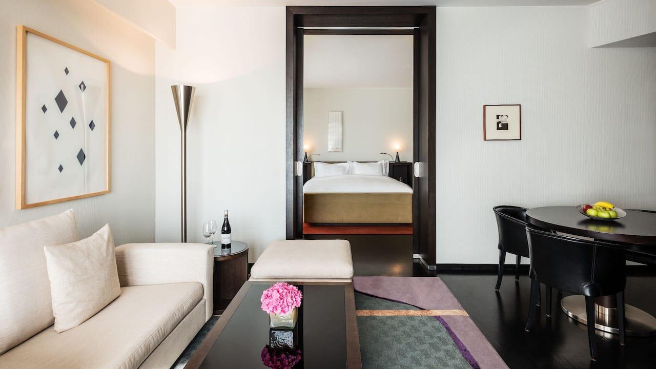 Master Bedroom Suite Grand Hyatt Berlin