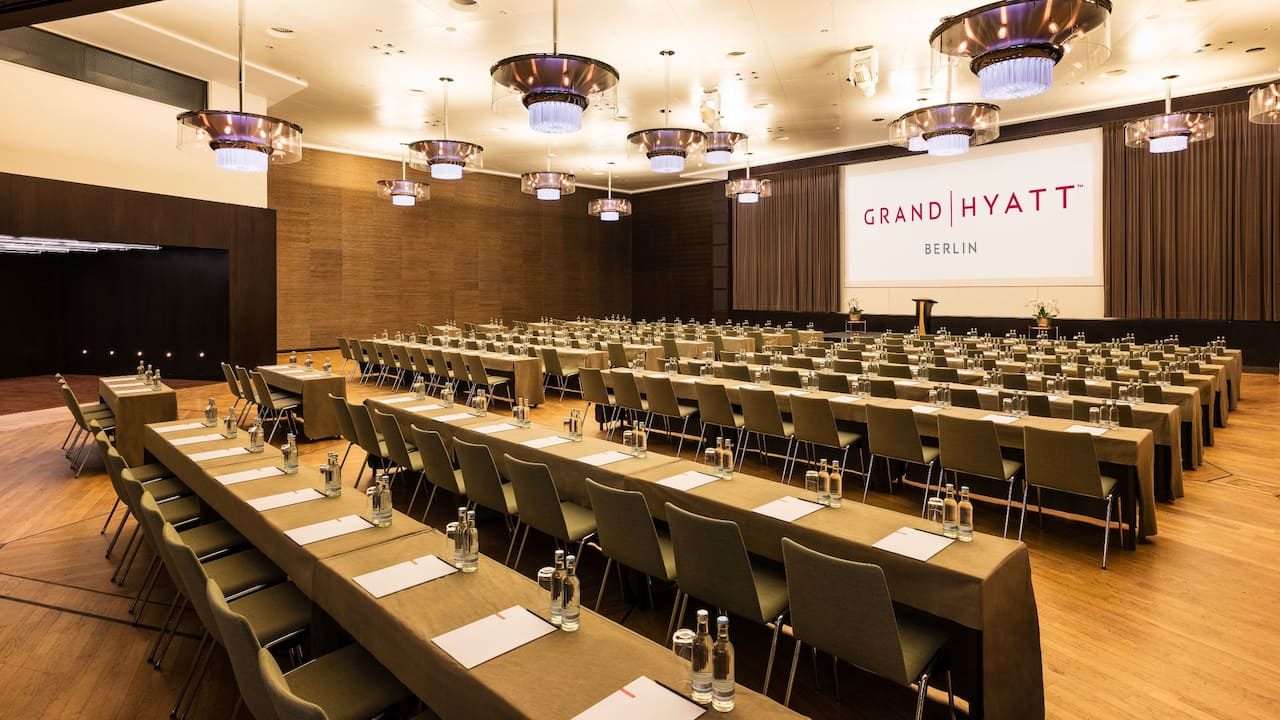 Ballroom at Grand Hyatt Berlin