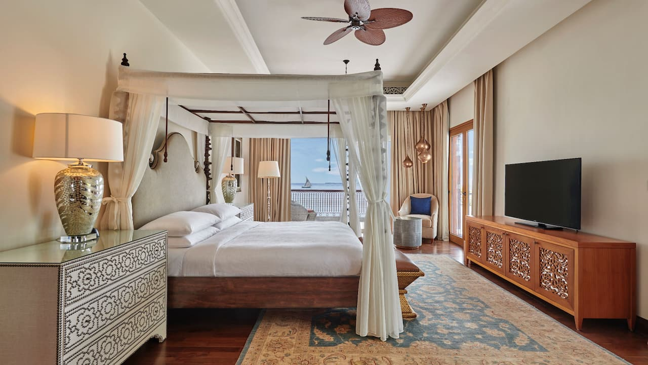 Park Hyatt Zanzibar Presidential Suite Bedroom