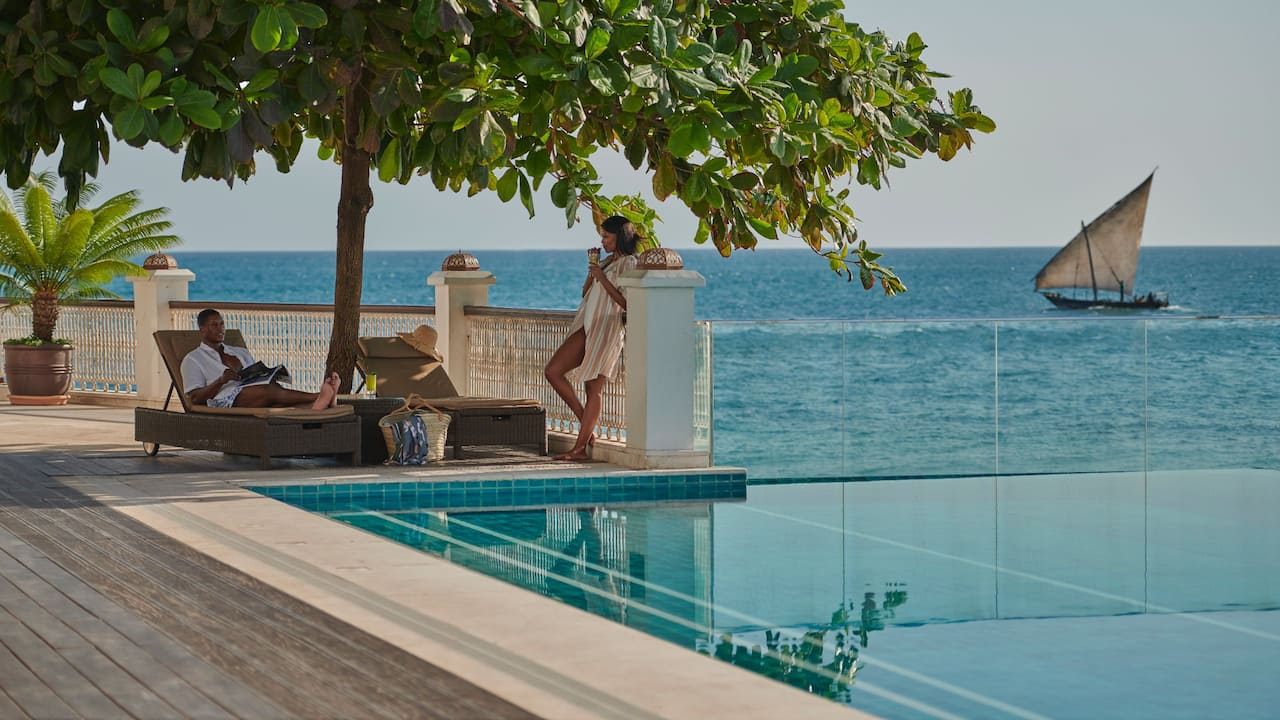 Park Hyatt Zanzibar Swimming Pool