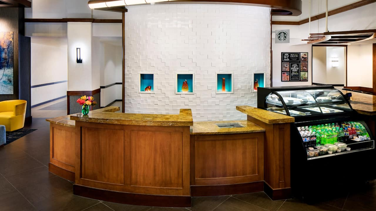 Front Desk Snack Bar