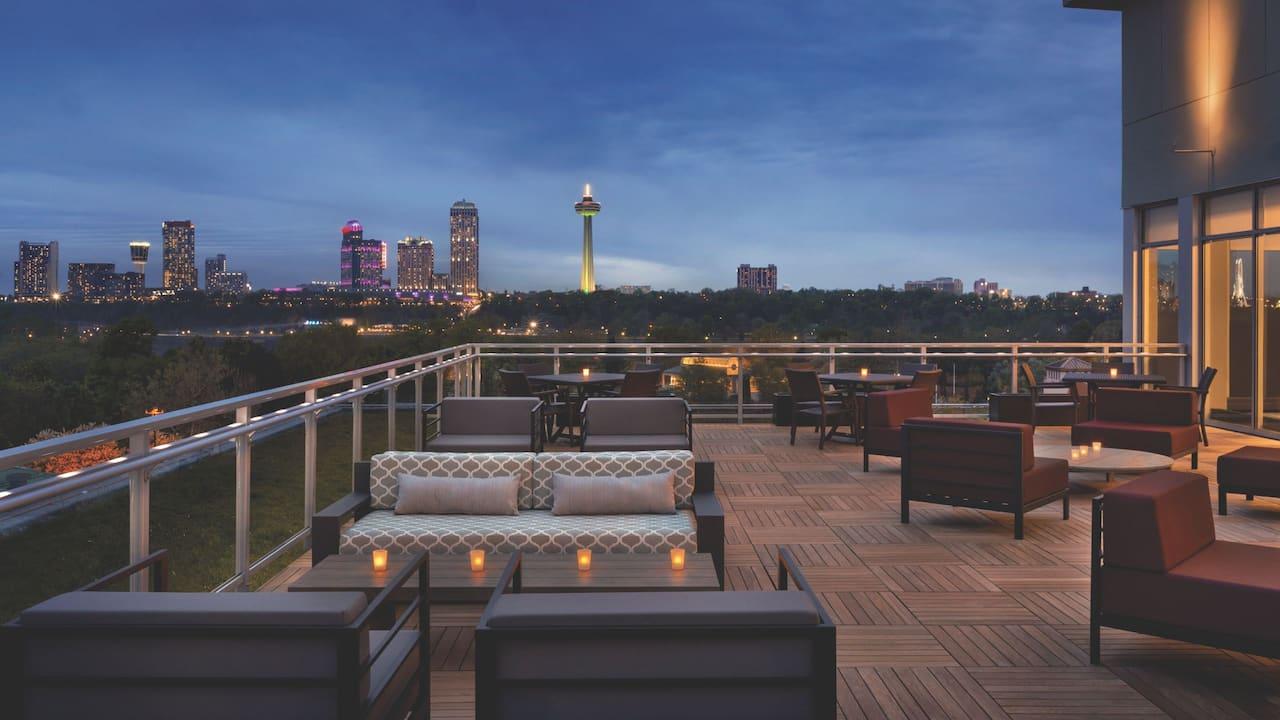 hyatt patio