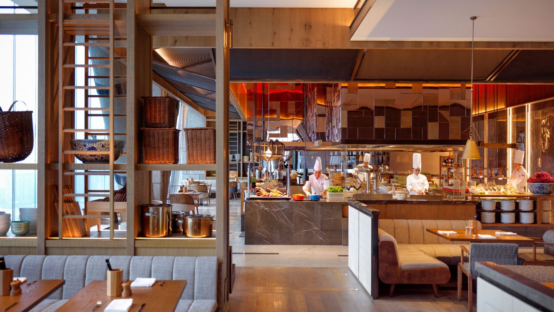Grand Cafe Open Kitchen