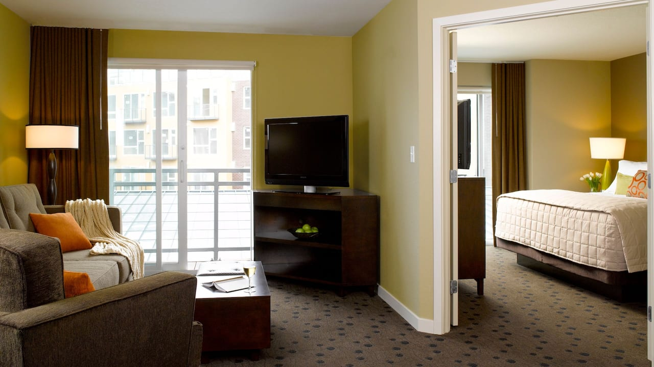 One Bedroom Hotel Suite in Redmond, WA – Hyatt House Seattle/Redmond