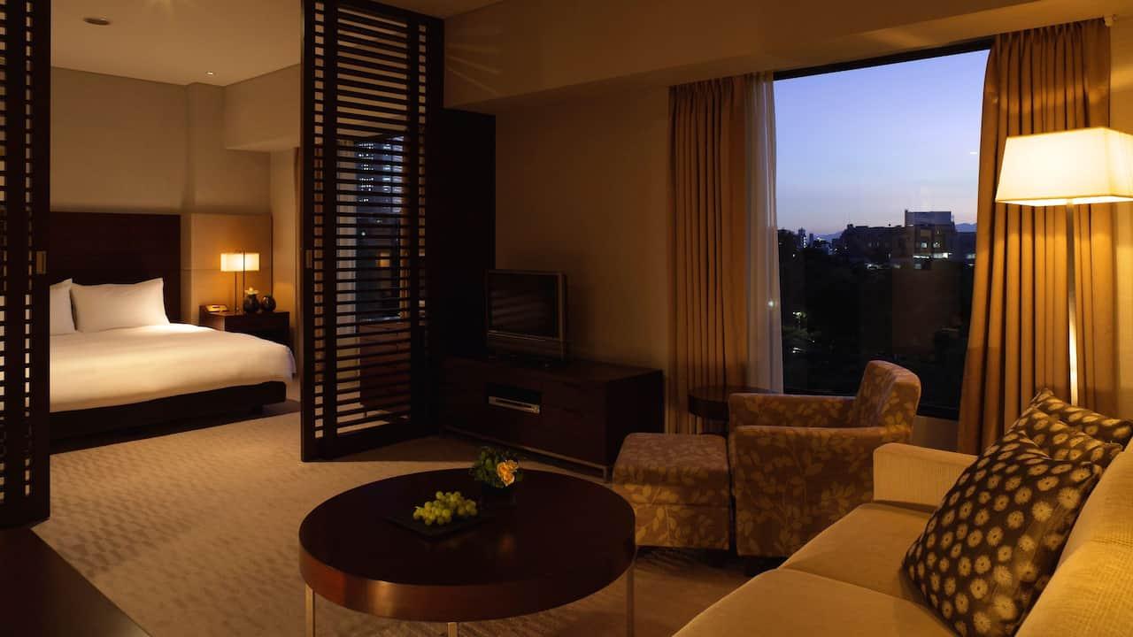 Regency Suite Living Room - Hyatt Regency Tokyo