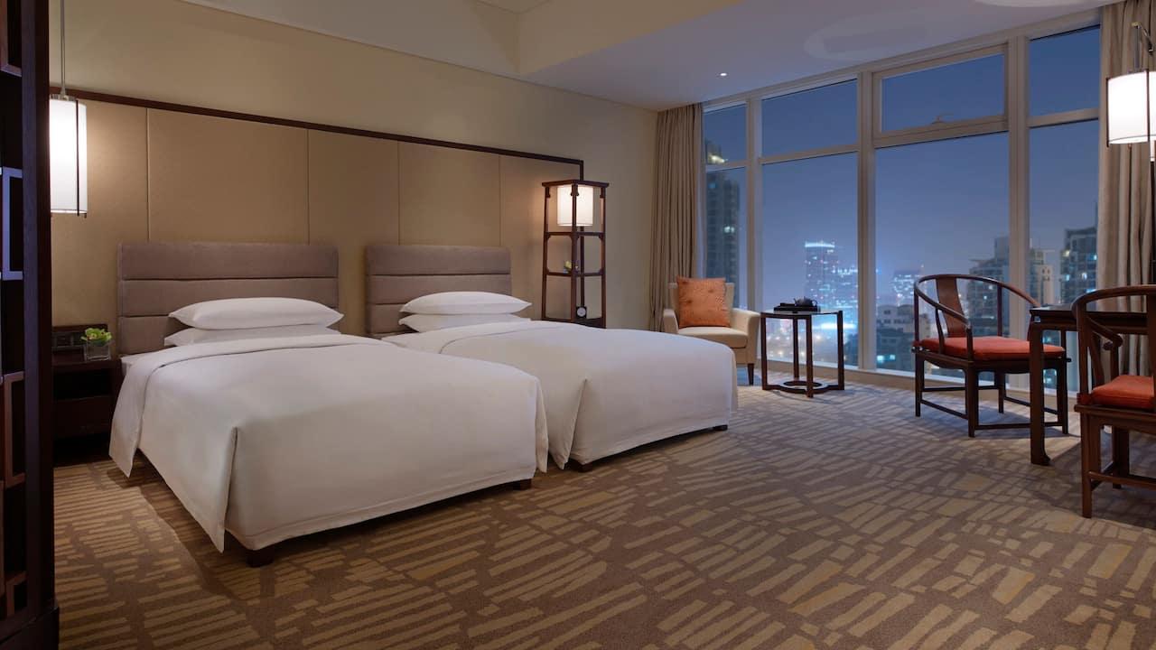 City Twin Guestroom