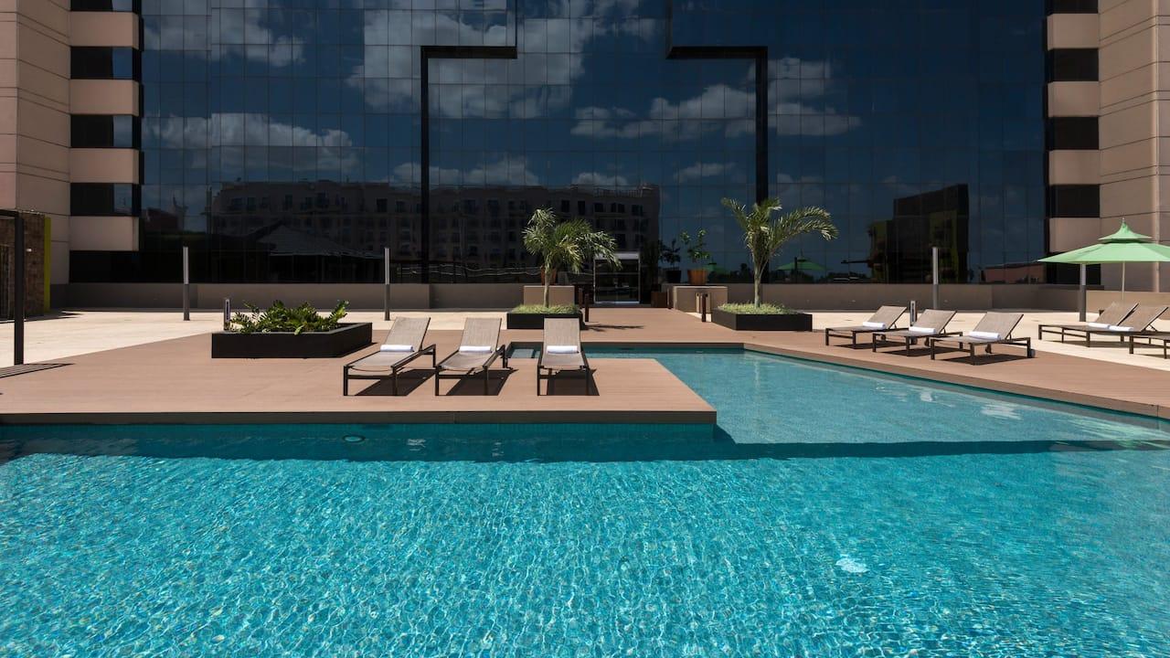 exterior pool in mexico merida