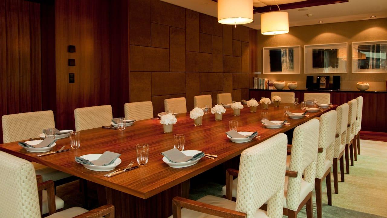 Private Dining Room at Park Hyatt Zurich
