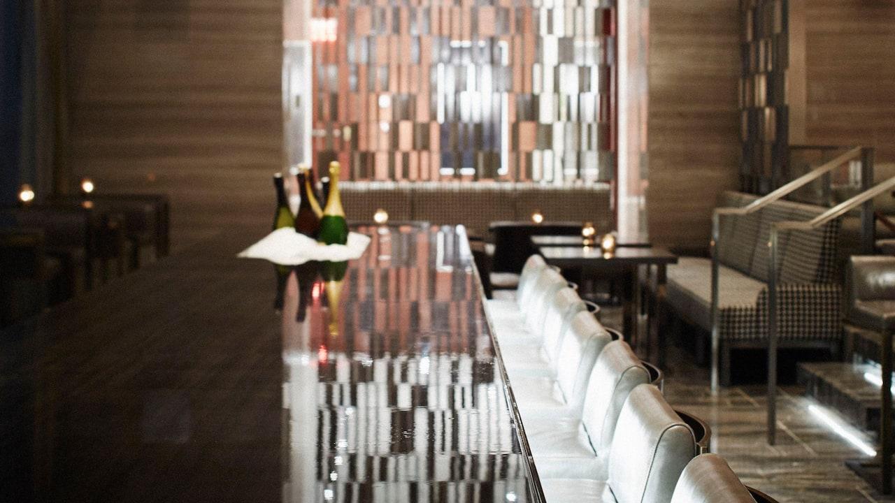 The Living Room Bar Detail