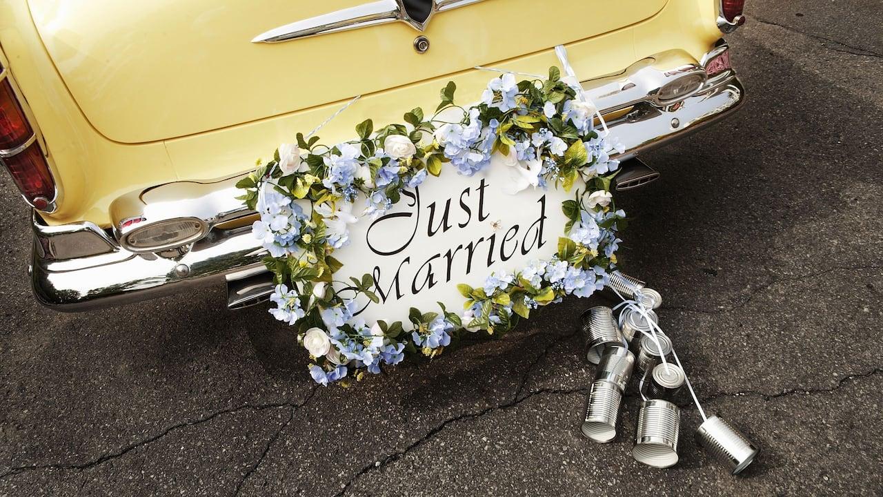 Wedding car at Hotel Hyatt Regency Paris Charles de Gaulle
