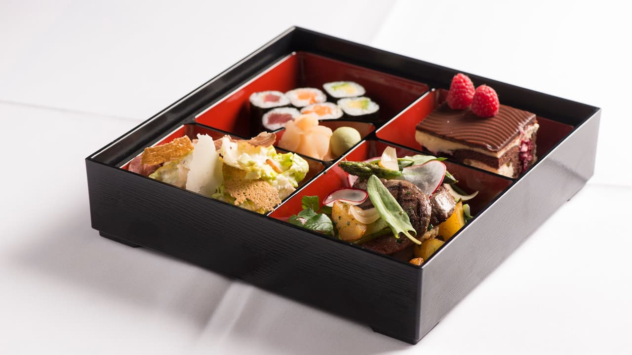 Bento Boxen im Grand Hyatt Berlin