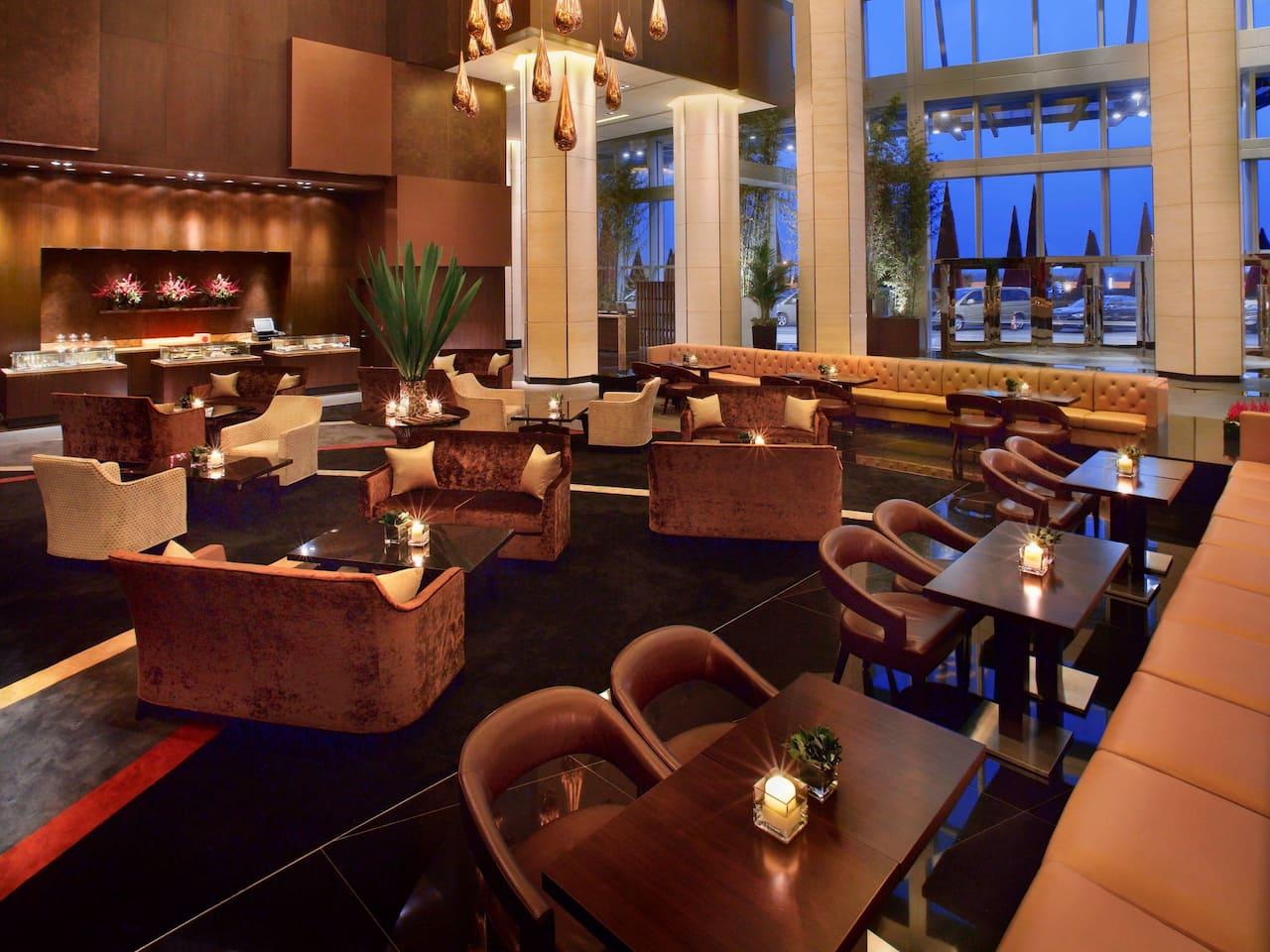 Grand Hyatt Macao Lobby Lounge