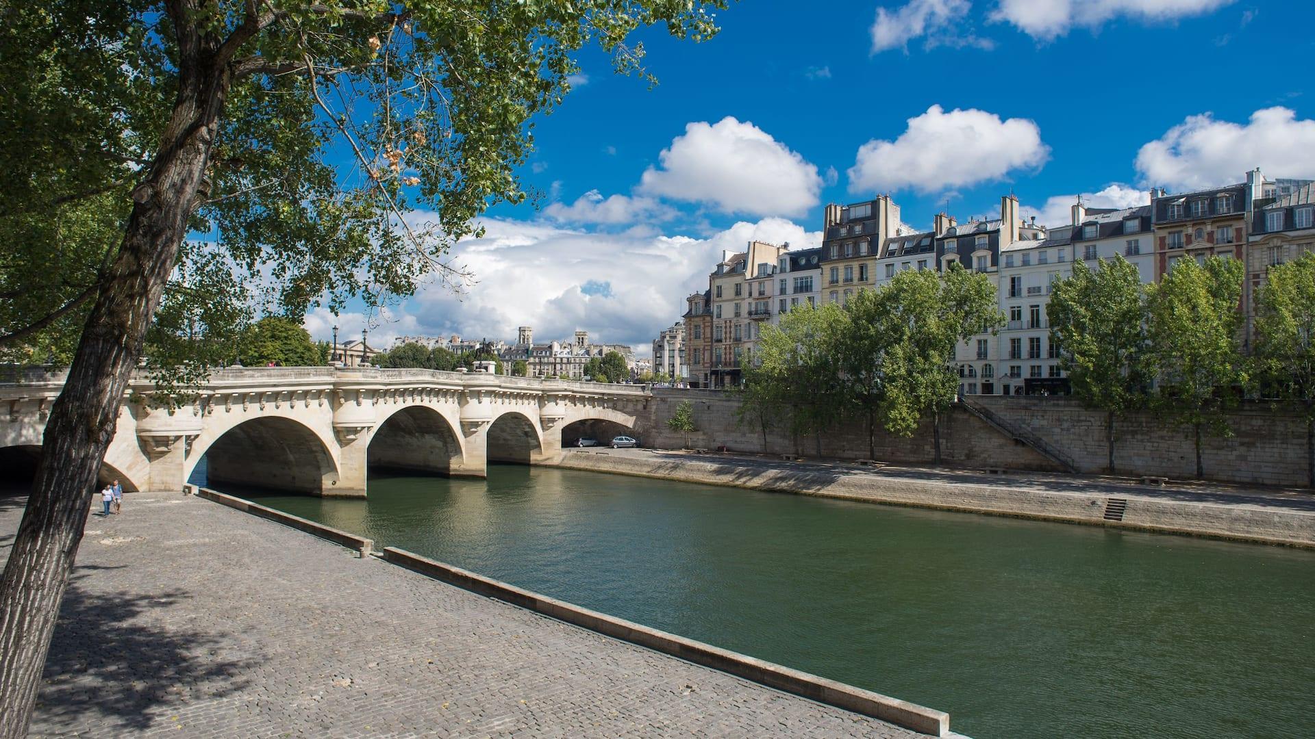 Paris Seine Bridge