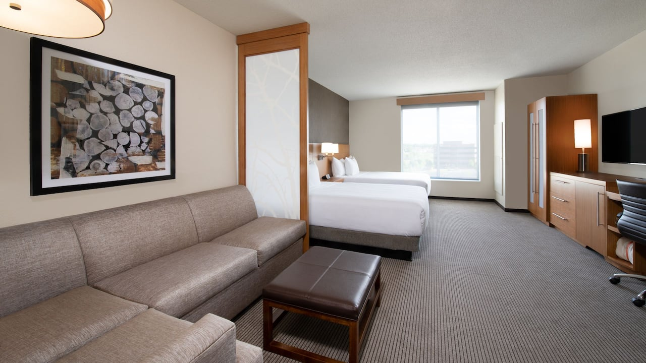 Hyatt Place Denver / Westminster Queen Beds with Sofa Bed