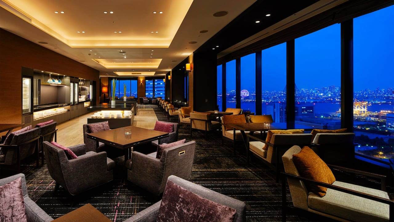 Regency Club Lounge - Hyatt Regency Osaka
