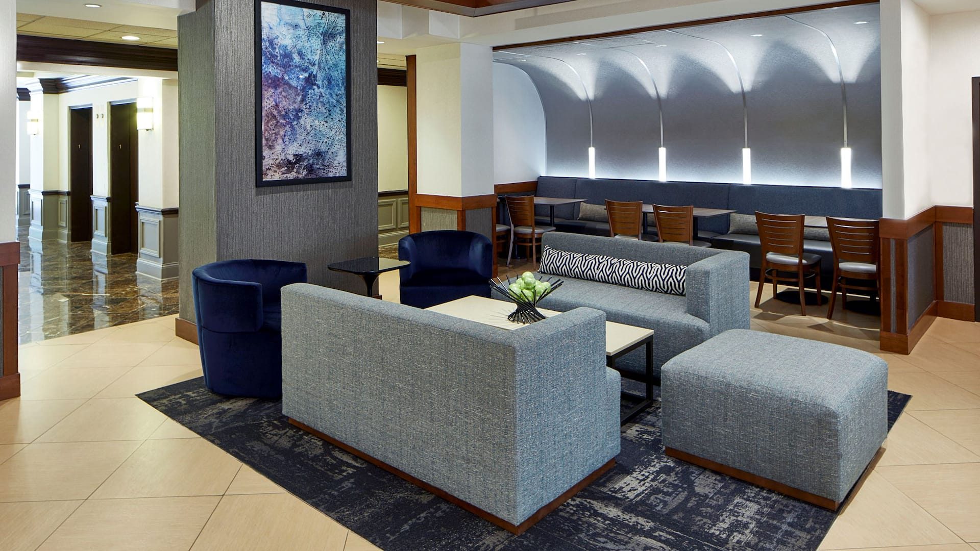 Hyatt Place Atlanta Cobb Galleria Lobby Seating