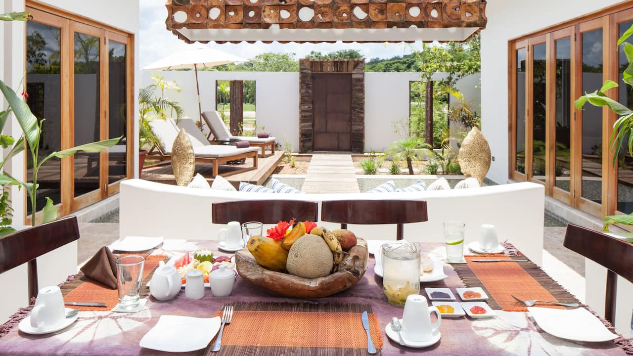 Two Bedroom Pool Villa Dining