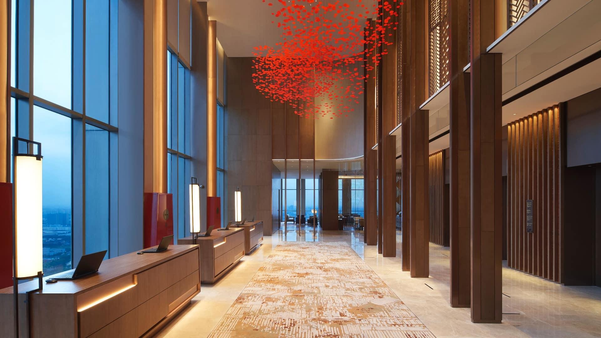 Hyatt Regency Shanghai Jiading hotel lobby