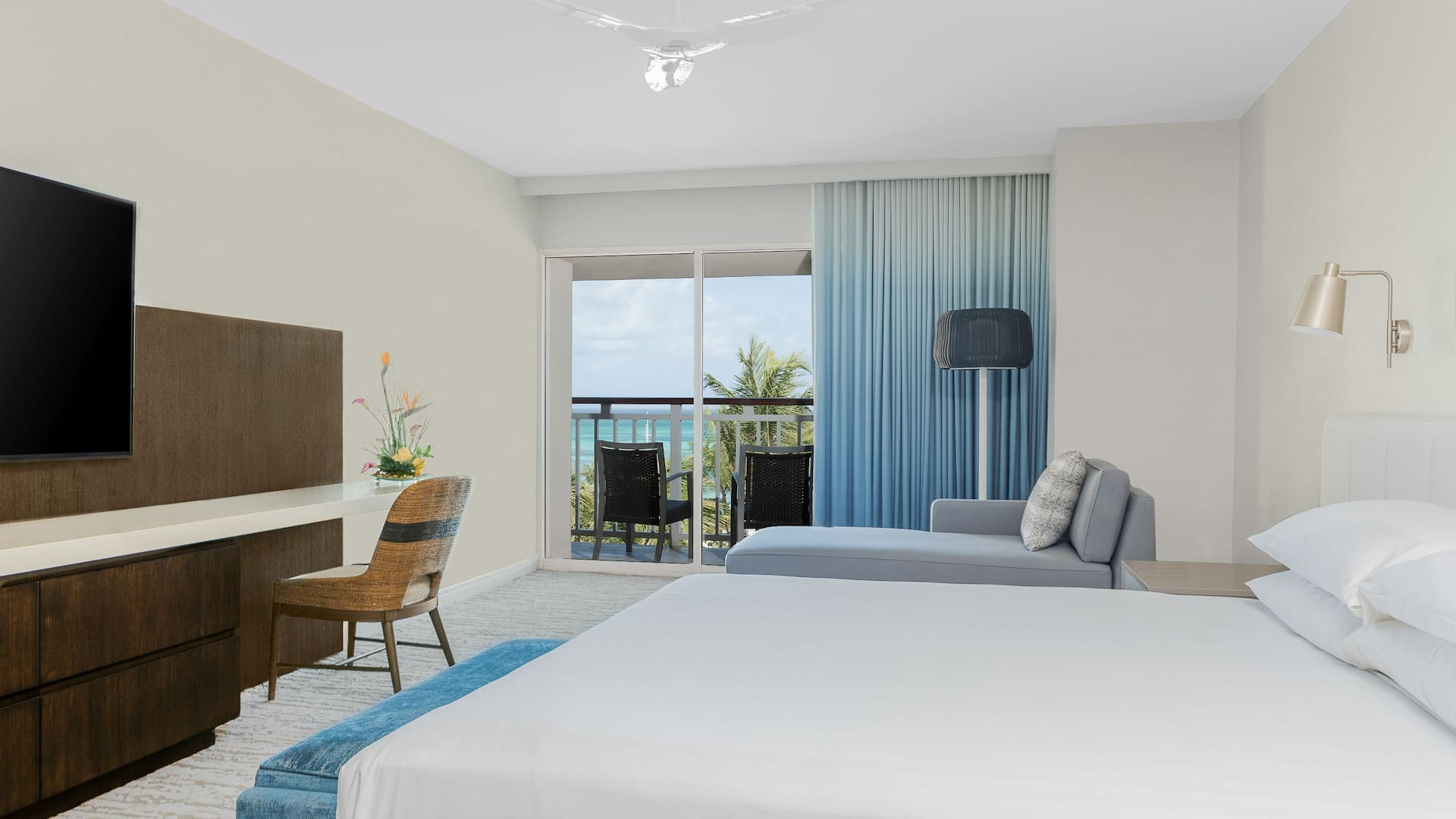 Garden and Pool View Executive Suite at Hyatt Regency Aruba Resort Spa and Casino