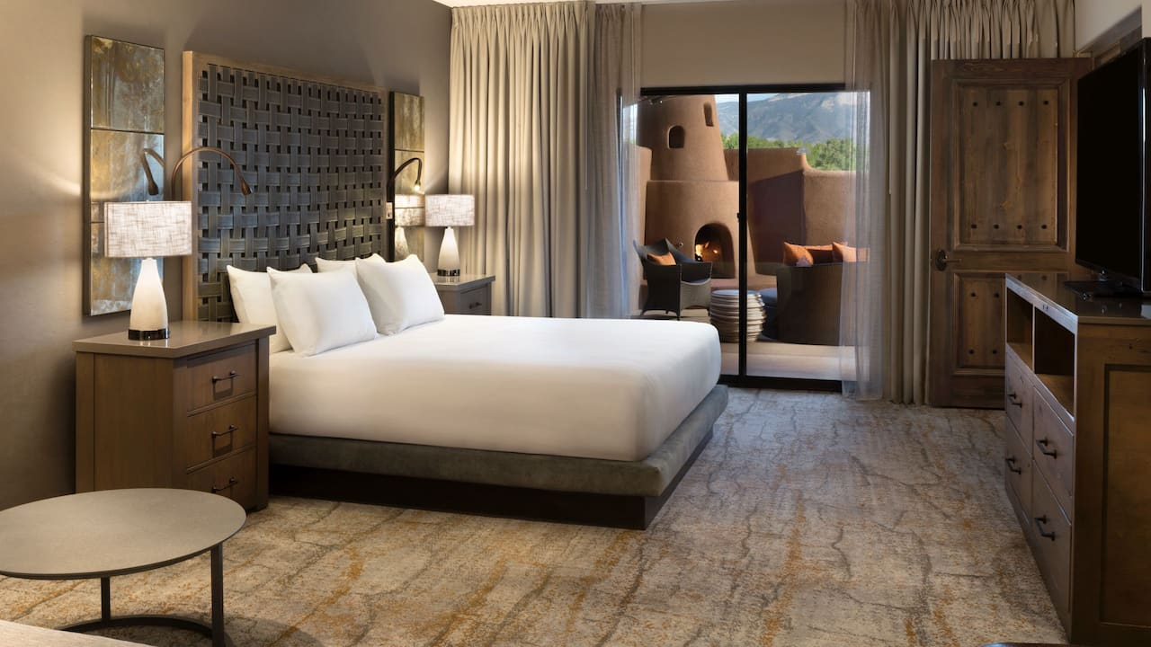Presidential Suite Bedroom Hyatt Regency Tamaya Resort & Spa
