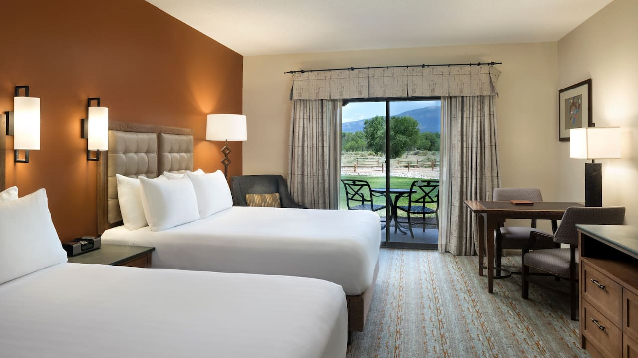 Room with Two Queen Beds Mountain View Hyatt Regency Tamaya Resort & Spa