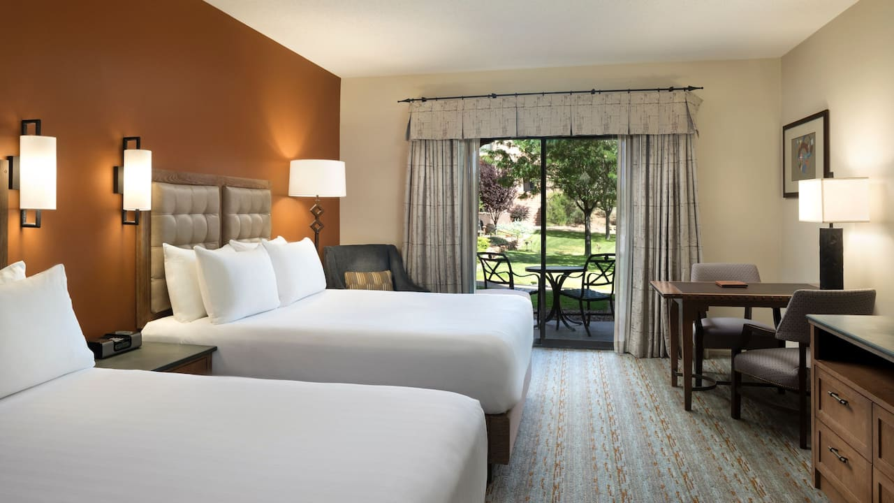 Two Queen Beds Pool Access Hyatt Regency Tamaya Resort & Spa