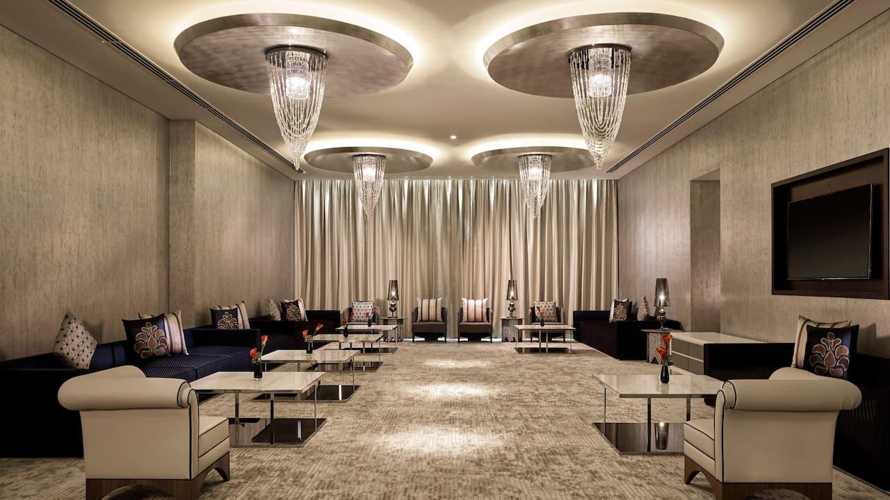 Ballroom Majlis at grand hyatt abu dhabi