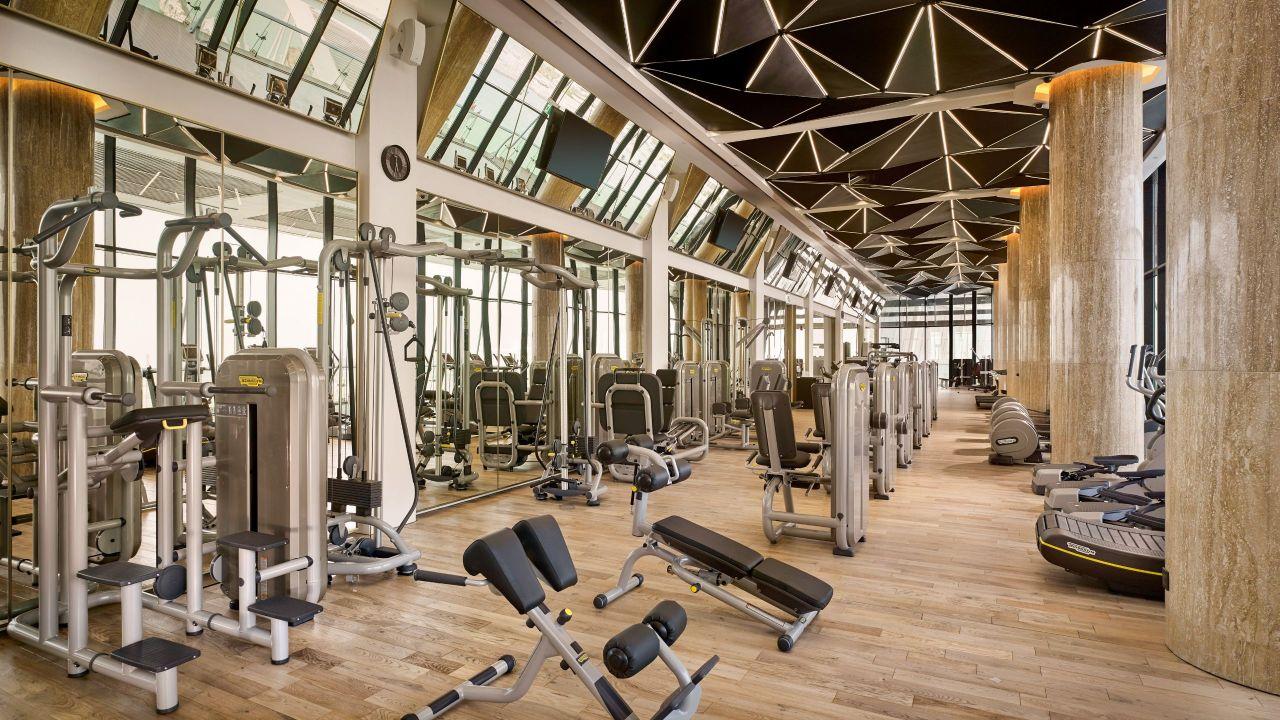 abu dhabi gym