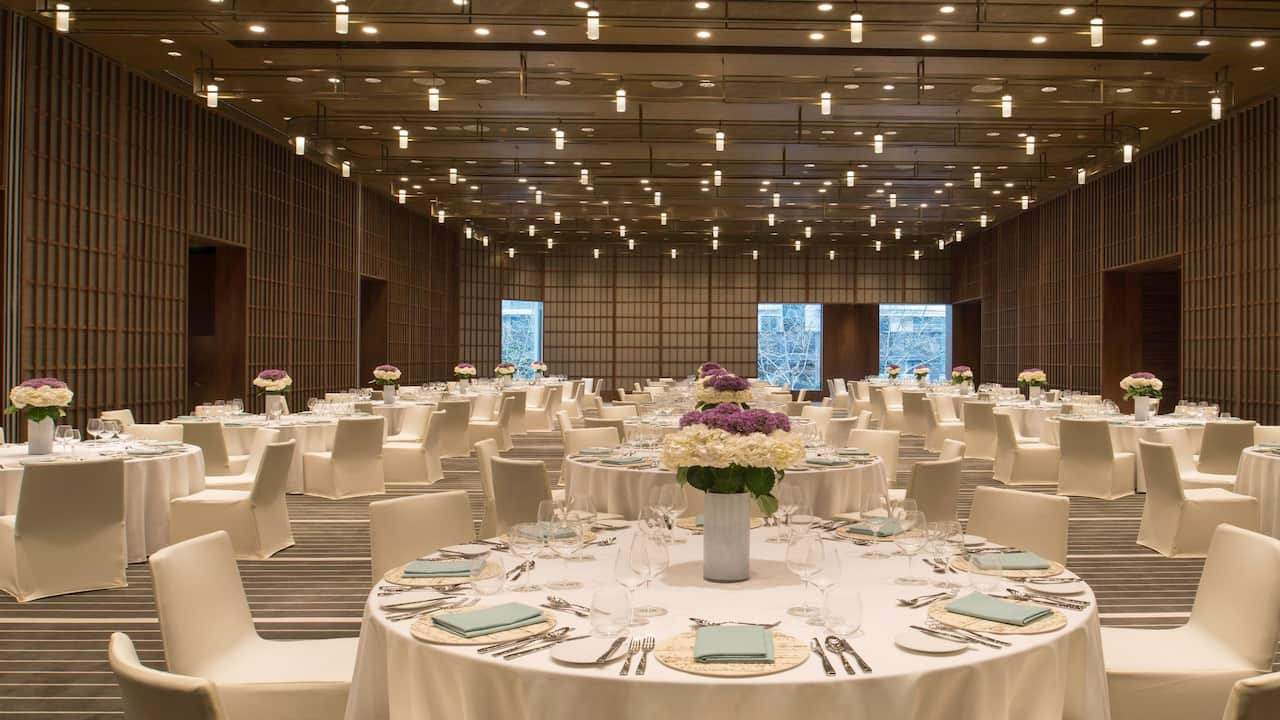 Grand Shanghai Ballroom For Social Events