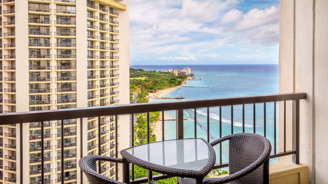 Hyatt Regency Waikiki Beach Resort Ocean View