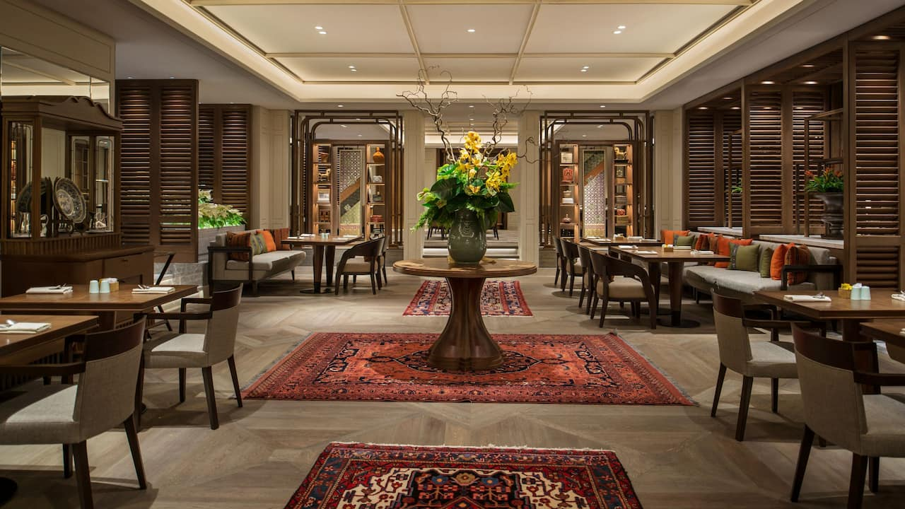 All-day Dining Indonesian Restaurant & Grand Café The Grand Hyatt