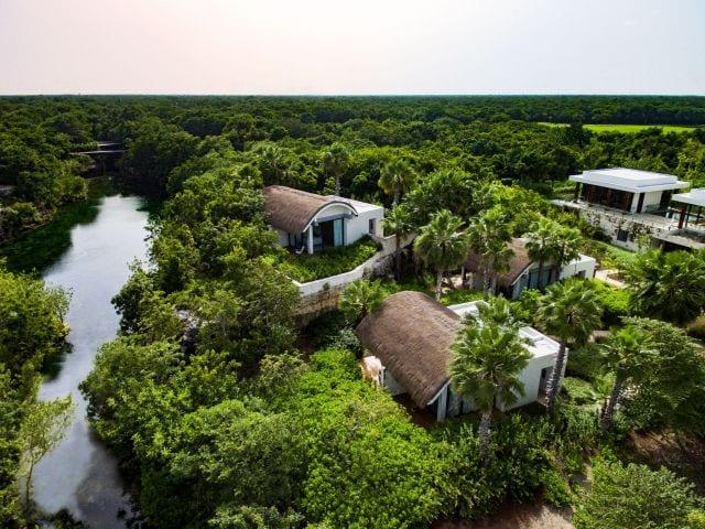 Andaz Mayakoba Resort Riviera Maya Naum Spa Aerial