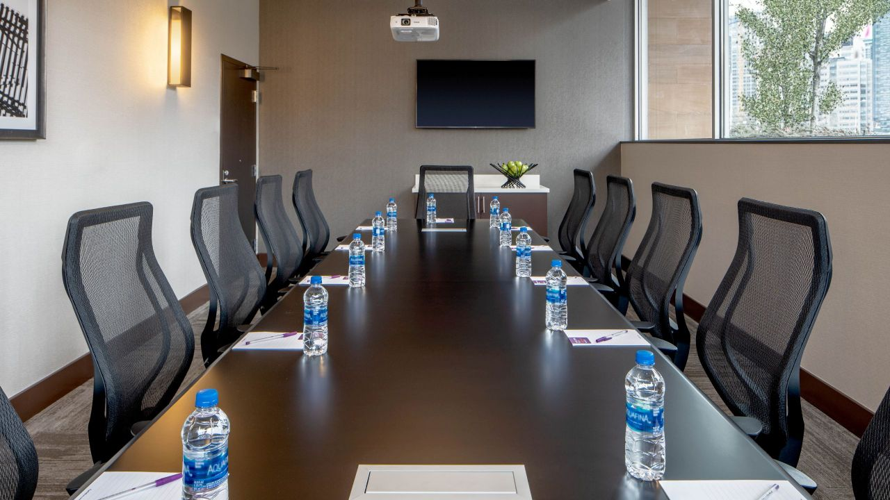 Meeting spaces table