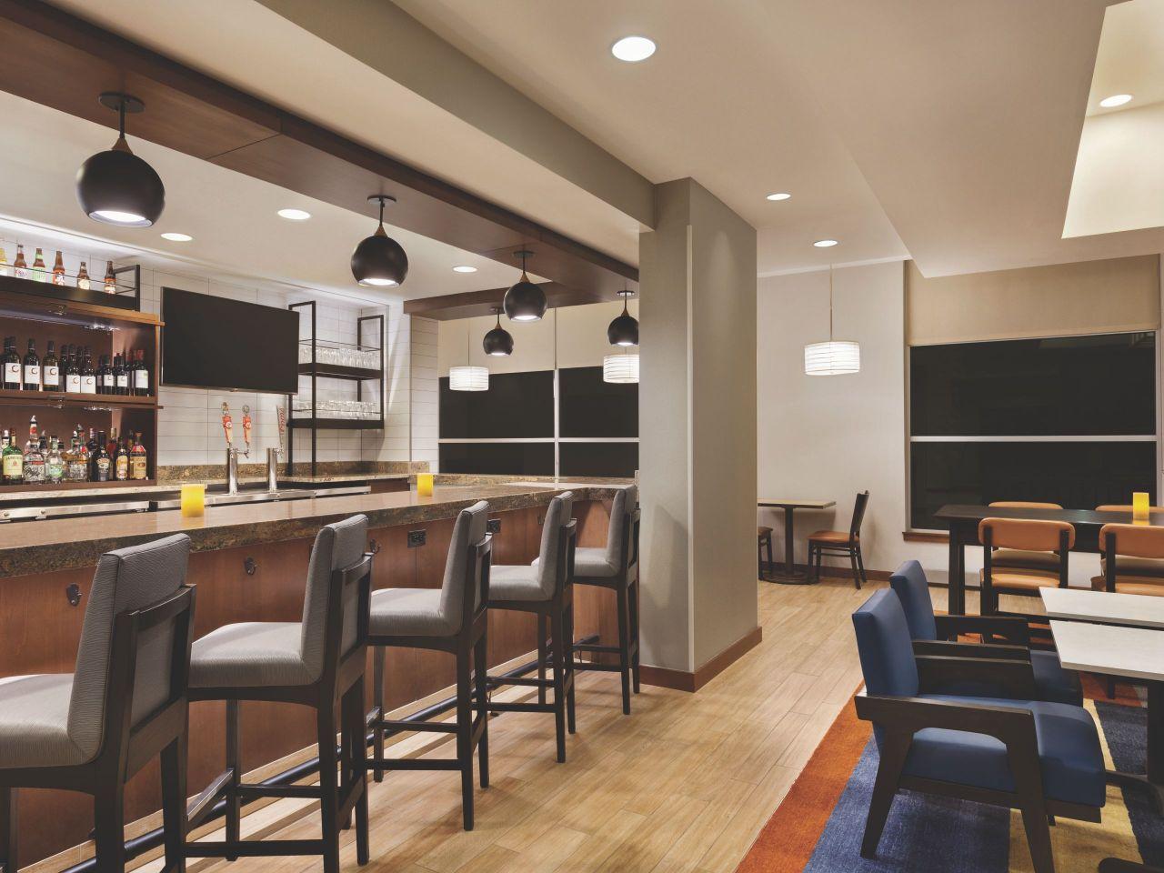 Hyatt House Denver Airport H Bar Seating
