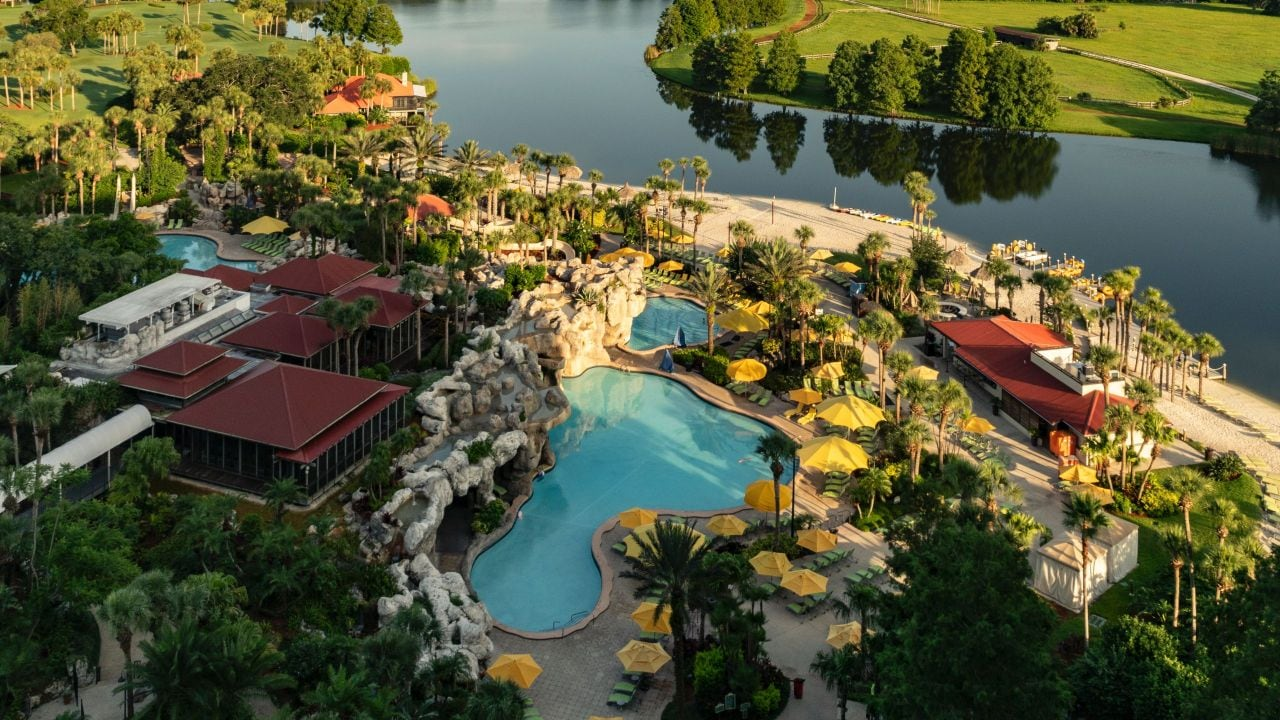 Hyatt Regency Grand Cypress Water Jet Splash Zone