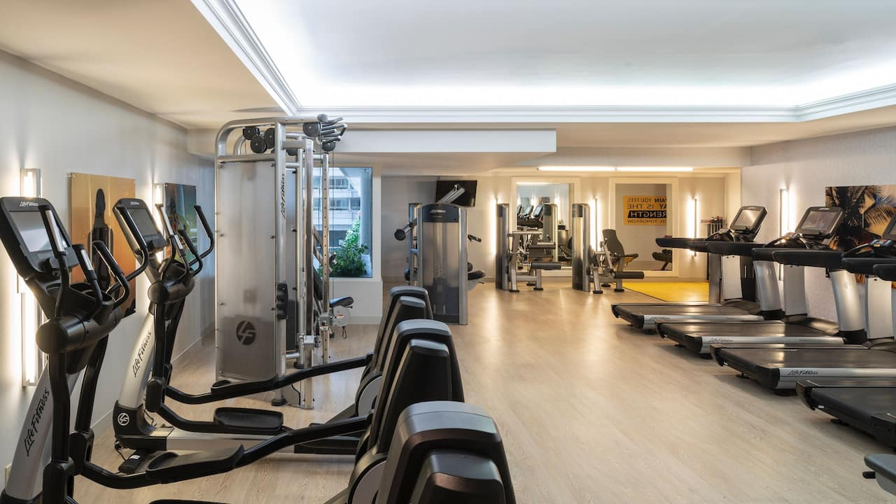 Fitness Center Hyatt Regency Orlando International Airport