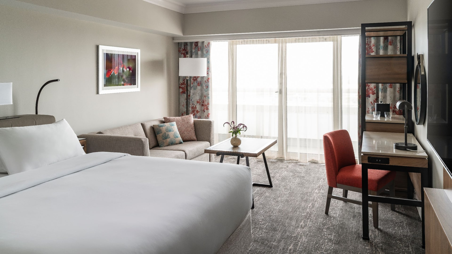 Hyatt Regency Orlando International Airport | Guestroom King Bed