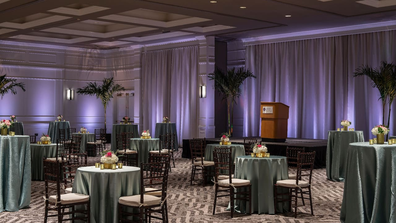 Hyatt Regency Orlando International Airport | Ballroom Reception