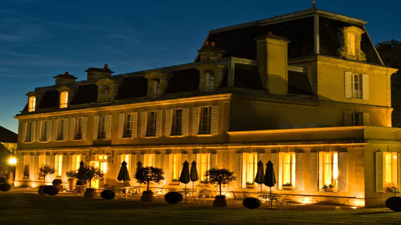 Exterior View by Night