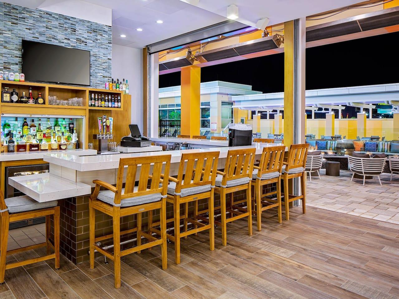 Hyatt House across from Universal Orlando Resort H Bar