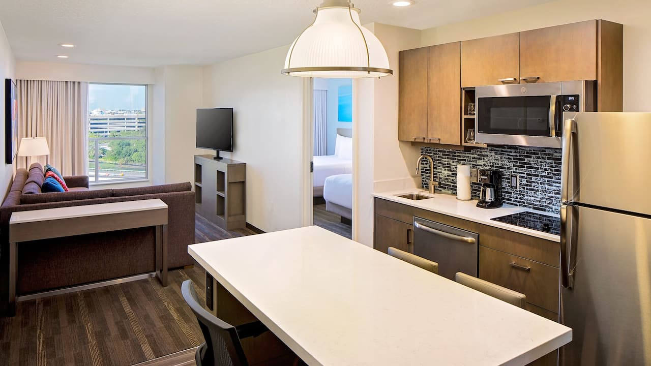 Small One Bedroom Kitchen