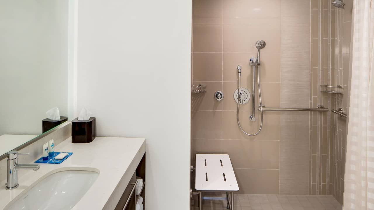 Accessible Roll In Shower