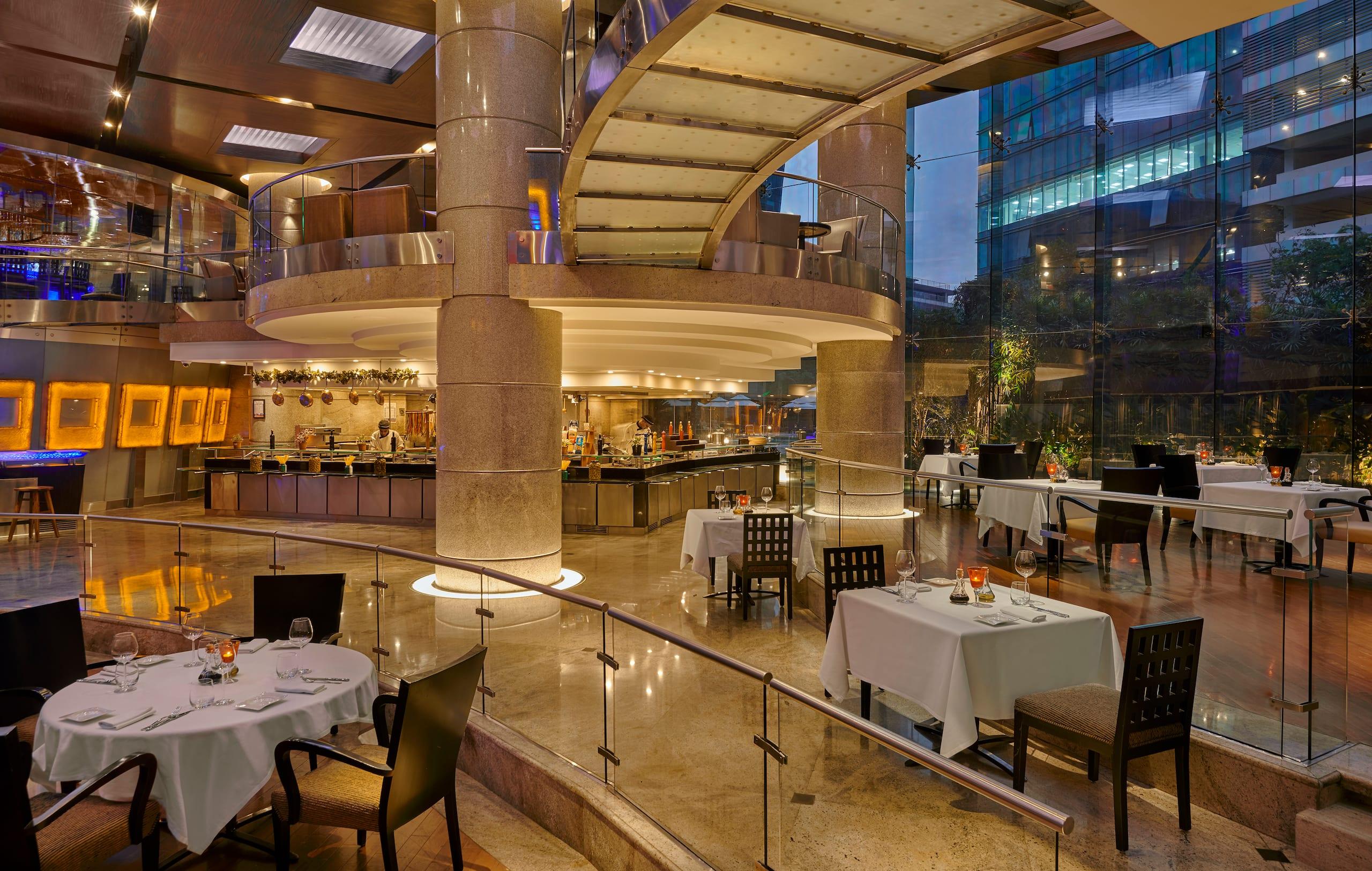 Terrific Restaurants In Mumbai Hyatt Regency Mumbai Interior Design Ideas Oxytryabchikinfo